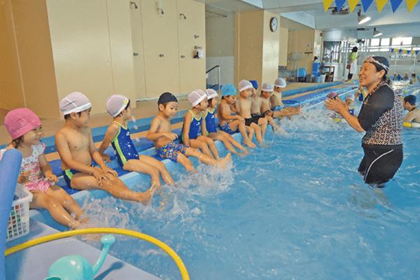 水泳教室 授業風景